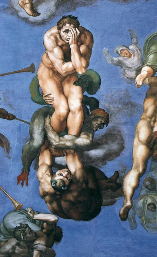 Michelangelo Buonarroti, 'The Last Judgement'